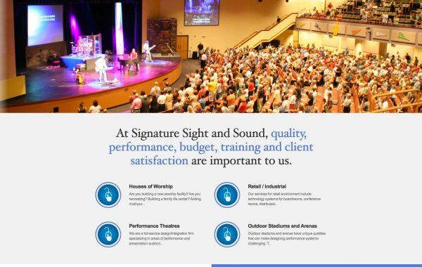 Signature Sight and Sound